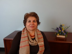 Dr. Razzaghi, Dean of Hunter Library