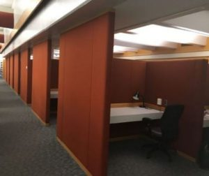 Microfilm Viewing Area- Before