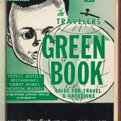 Cover of the 1960 Green Book, from the NY Public Library